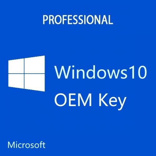 Microsoft Windows 10 Professional 32/64Bit OEM Key