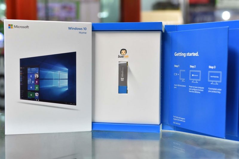 where is product key for windows 10 oem